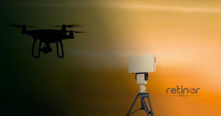 PERIMETER SURVEILLANCE SYSTEMS -Retinar FAR-AD Drone Detection Radar