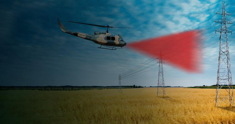 LASER & ELECTRO-OPTIC SYSTEMS -  HETS Helicopter Obstacle Detection System