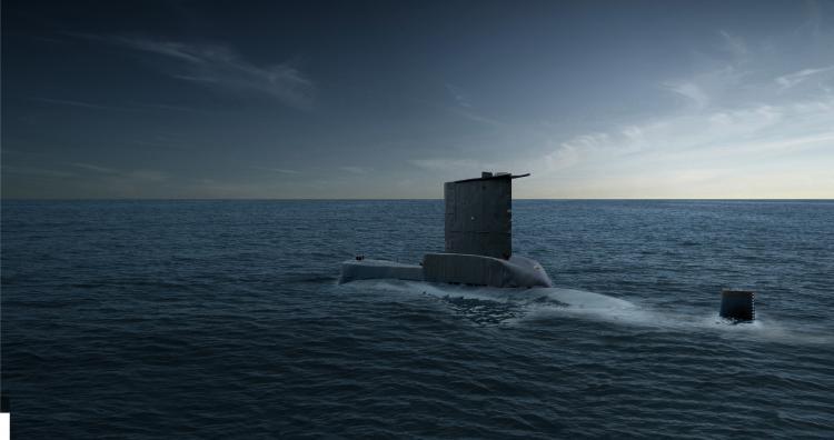 UNDERWATER ACOUSTIC SYSTEMS -  IPS Submarine Intercept Passive Sonar