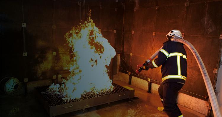 PLATFORM SIMULATORS -  Mobile Firefighting Training Simulator (M-FTSIM)