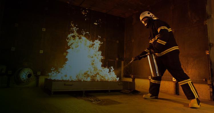 PLATFORM SIMULATORS -  FTSIM Firefighting Training Simulator